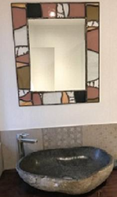 Réalisation miroir vitrail sur mesure