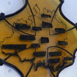 croix occitane ariége décoration artisanale carte ariège artisanat d'art